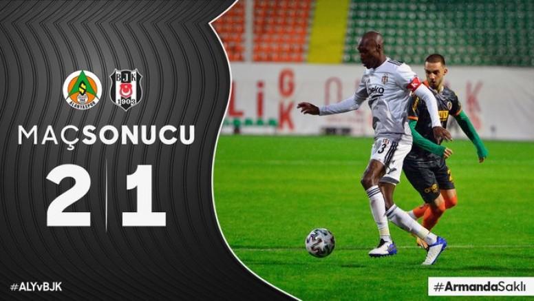 Beşiktaş ağır yara aldı.
