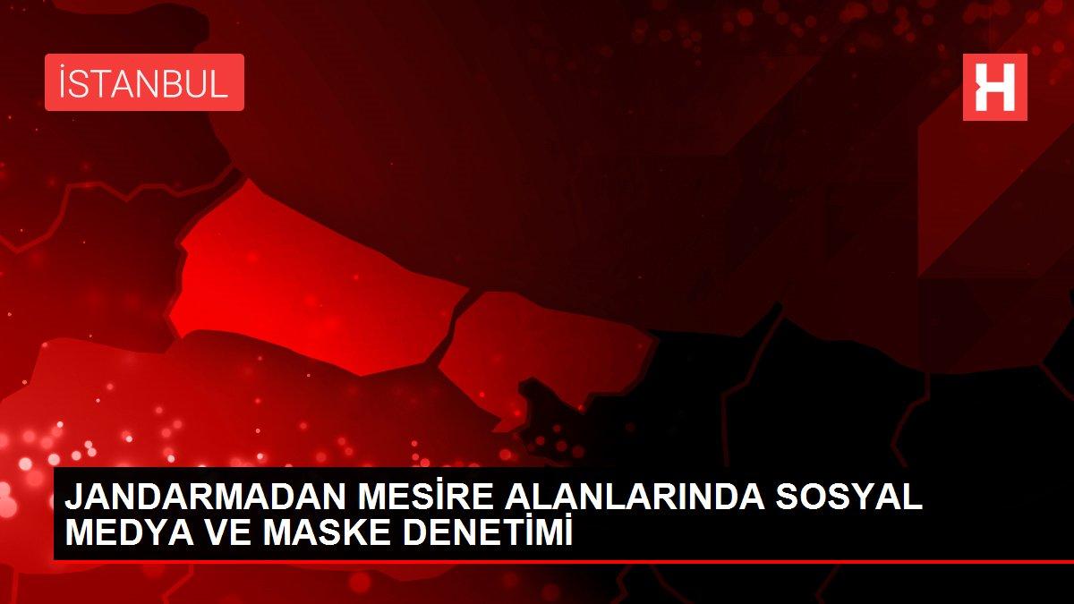 JANDARMADAN MESİRE ALANLARINDA SOSYAL MEDYA VE MASKE DENETİMİ