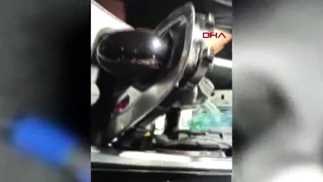 Otomobilin torpidosunda uyuşturucu sevkiyatına 4 tutuklama