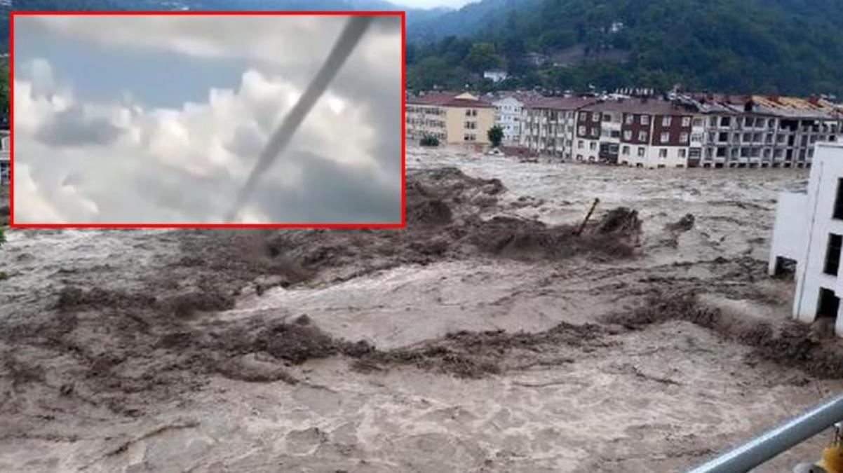 Selin yıktığı Kastamonu'da bu kez hortum paniği yaşandı