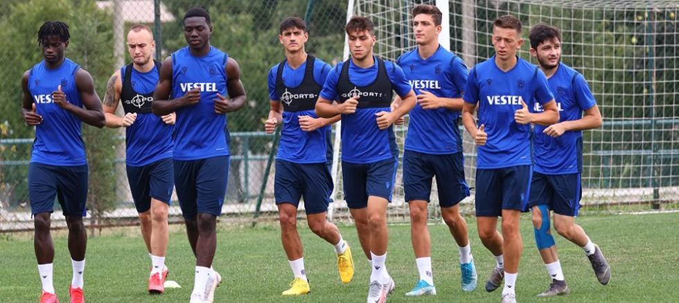 Trabzonspor Denizlispor hazırlıkları başladı.