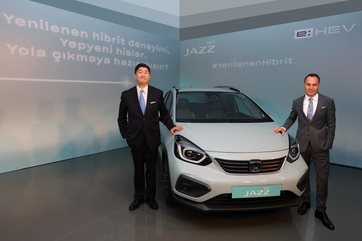 Yeni Honda Jazz Hybrid e: HEV, haziran başında Türkiye'de satışa çıkacak